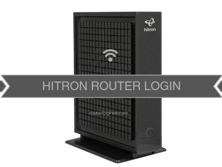 Hitron Router Login