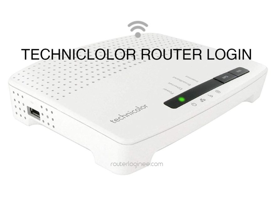 technicolor router login