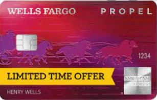 Wells Fargo Propel up to a Possible 50,000