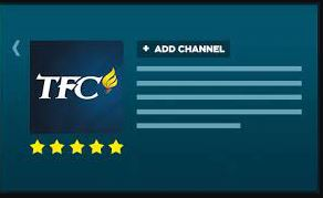 Activate TFC at tfc.tv