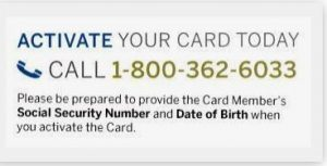 Activate Your Card